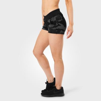 Product photo of Rough sweatshorts, Dark camo
