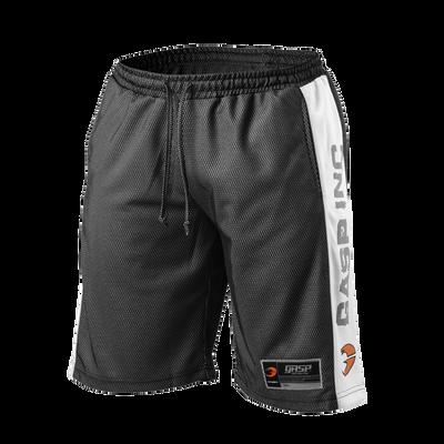 Product photo of No1 mesh shorts, Black/white