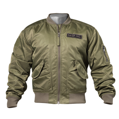 Product photo of GASP Utility jacket, Wash green