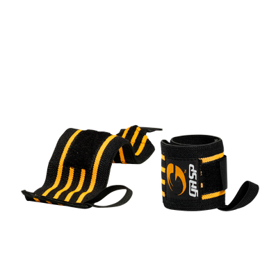 Product photo of Hardcore Wrist Wraps, Black