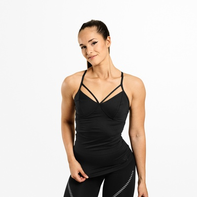 Product photo of Waverly Strap Top, Black