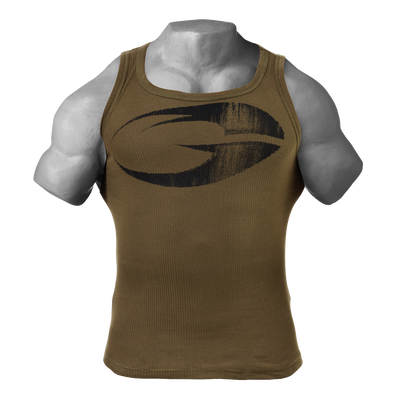 Product photo of Original ribbed tank, Military olive