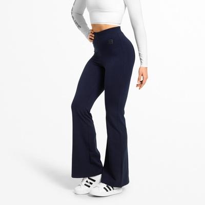 Product photo of Chrystie Flare Pants, Dark Navy