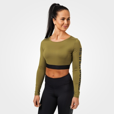 Product photo of Chelsea cropped ls, Military green