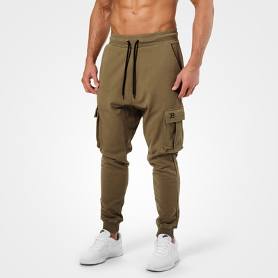 Product photo of Bronx Cargo Sweatpant, Khaki Green