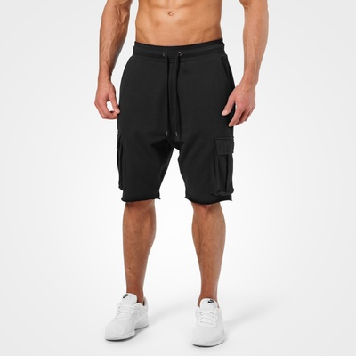 Product photo of Bronx Cargo Shorts, Wash Black