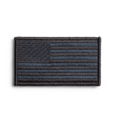 Product photo of GASP Flag US, Black, Neutral