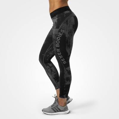 Product photo of Gracie curve tights, Black/grey