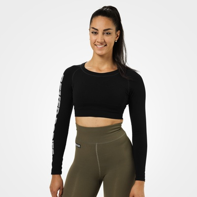 Product photo of Bowery Cropped LS, Black