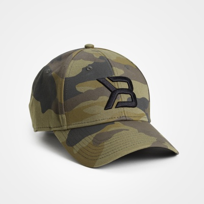 Product photo of BB Baseball cap, Green camoprint