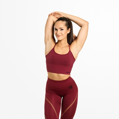 Product photo of Astoria Seamless Bra, Sangria red