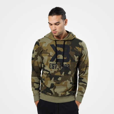 Product photo of Gym Hoodie, Military Camo