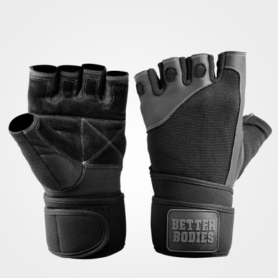 Product photo of Pro Wristwrap Gloves, Black