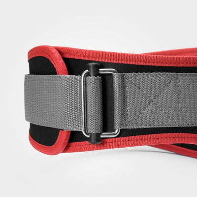 Product photo of Basic gym belt, Black/red