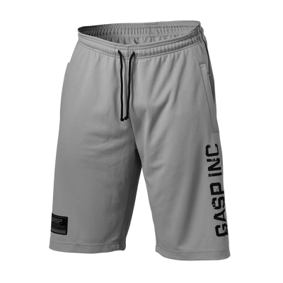 Product photo of No 89 mesh shorts, Light grey