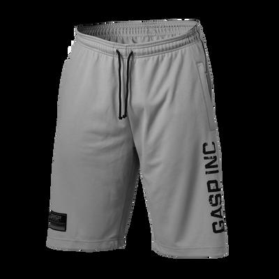 Product photo of No 89 mesh shorts, Light grey