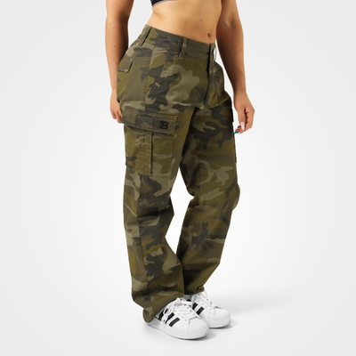 Product photo of Bowery Cargos, Dark Green Camo