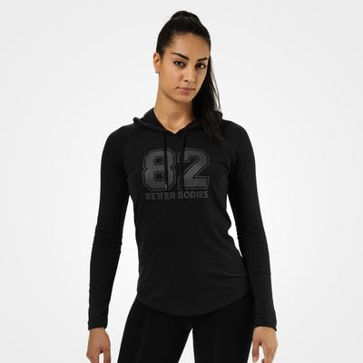Product photo of Varsity hoodie, Black