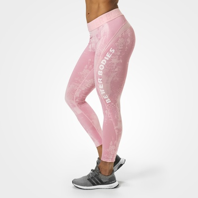 Product photo of Gracie curve tights, Light pink print