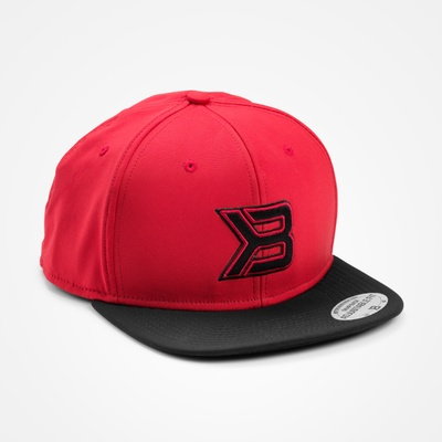 Product photo of Flat bill cap, Red/black