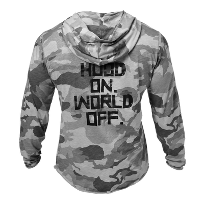 Product photo of World Off hood, Snow Camo