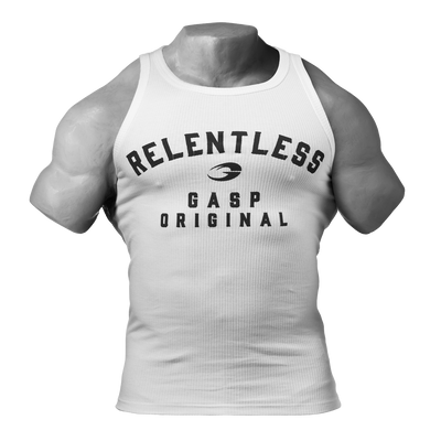 Product photo of Relentless tank, White