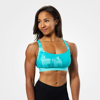 Product photo of Fitness short top, Aqua print