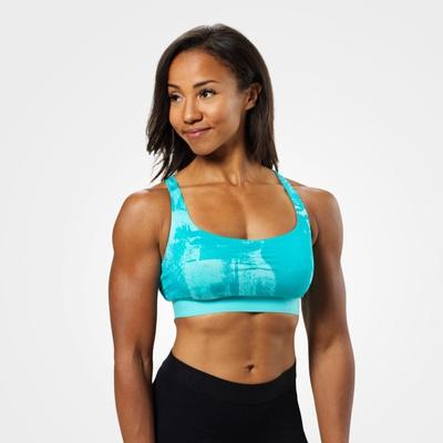Product photo of Fitness short top, Aqua print