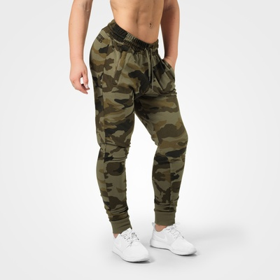 Product photo of Jogger sweat pants, Dark green camo