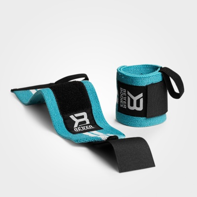 Product photo of Womens Wrist Wraps, Aqua/White