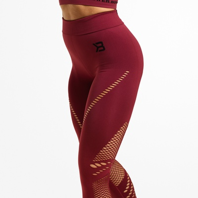 Product photo of Waverly Tights, Sangria Red