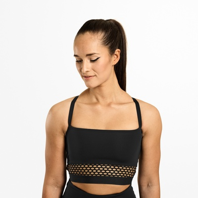 Product photo of Waverly Mesh Bra, Black