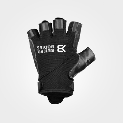Product photo of Pro gym gloves, Black/black