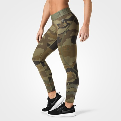 Product photo of Chelsea tights, Dark green camo