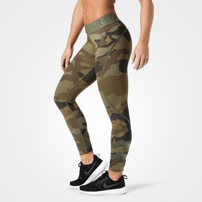 Product photo of Chelsea tights, Dark green camo