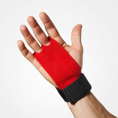 Product photo of Athletic Grips, Bright Red