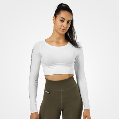 Product photo of Bowery Cropped LS, White