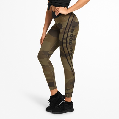 Product photo of Camo high tights, Dark green camo