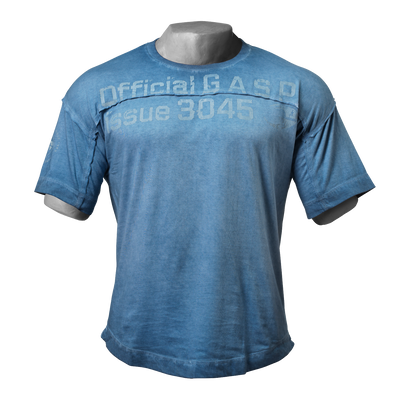 Product photo of HL yoke tee, Ocean blue
