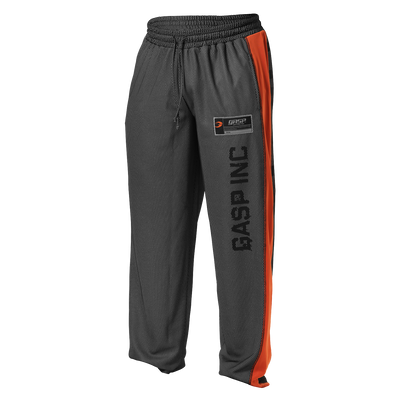 Product photo of No1 mesh pant, black/flame