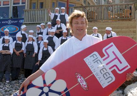 Jamie Oliver, Fifteen