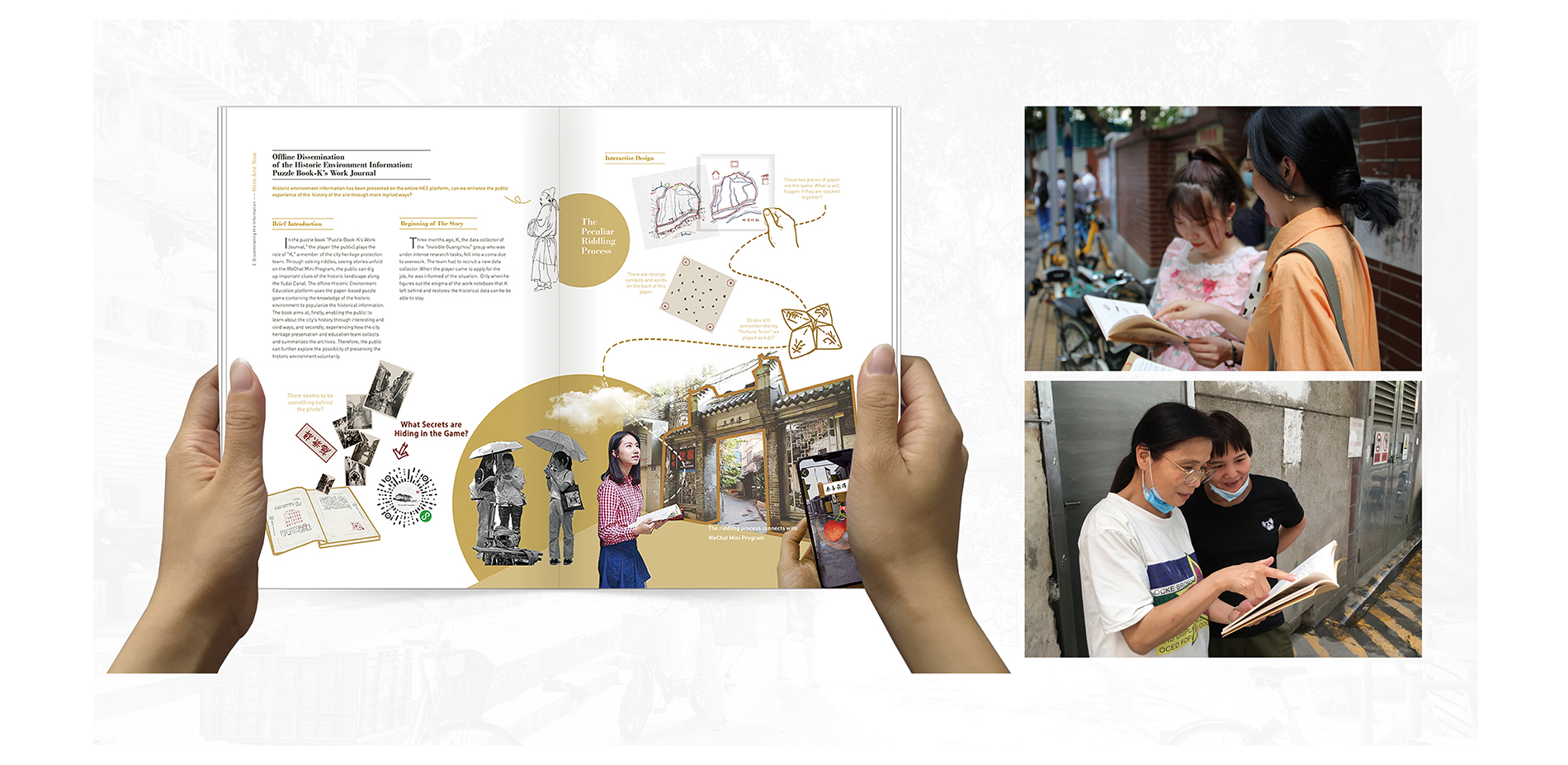 """The Design of """"Puzzle Book---K's Work Journal"""""""