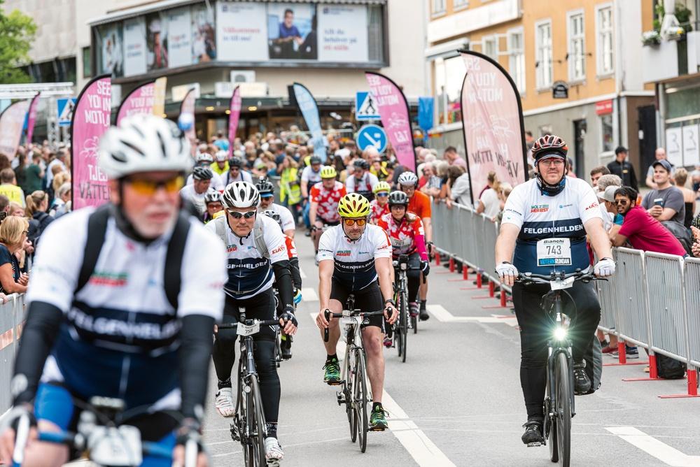 Starten Vätternrundan 2019. Foto: Petter Blomberg