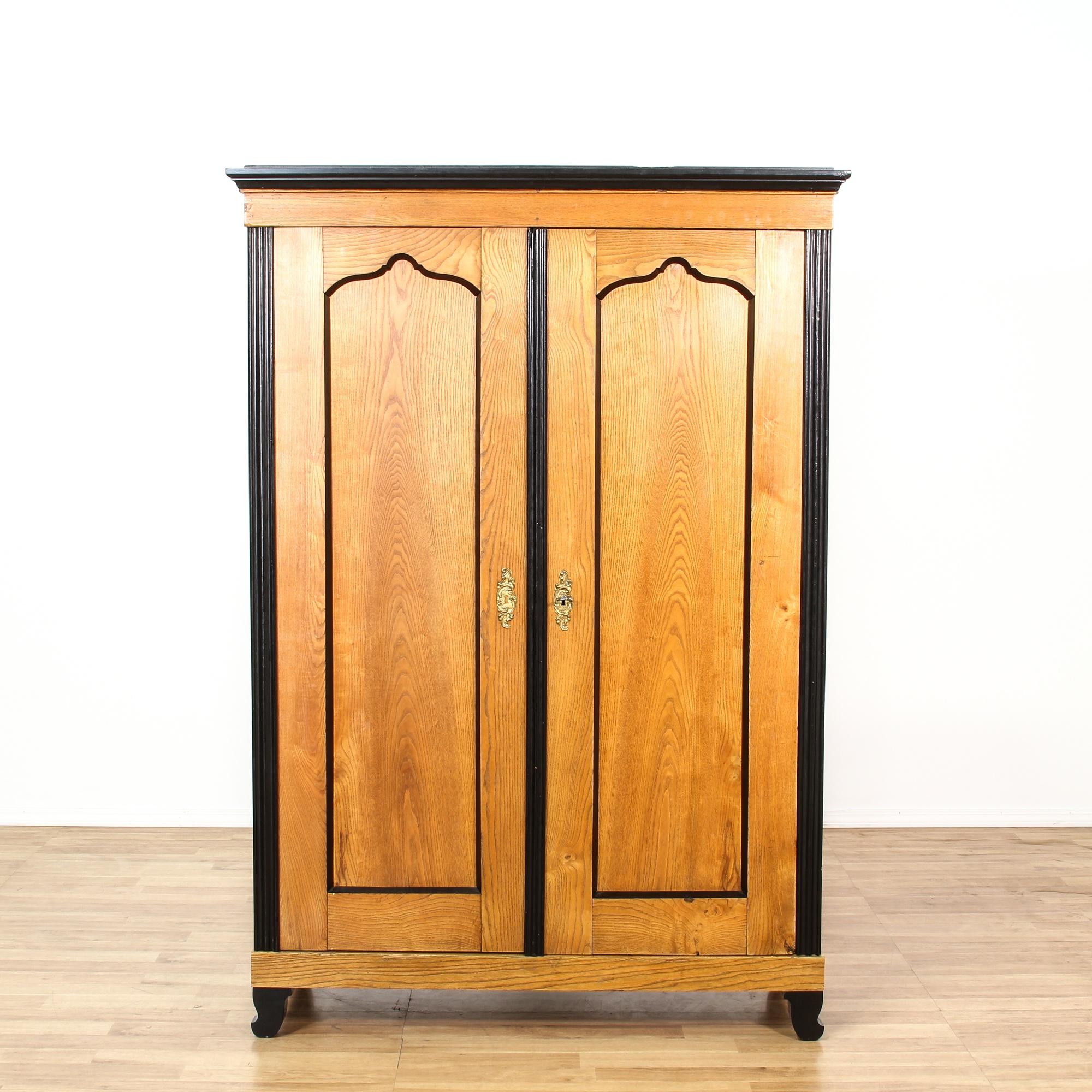 biedermeier style wardrobe armoire loveseat vintage furniture san diego los angeles. Black Bedroom Furniture Sets. Home Design Ideas
