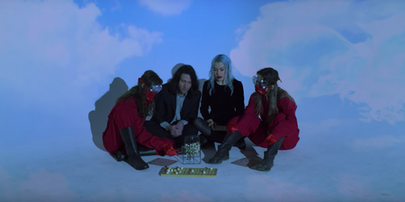 Better Oblivion Community Center plays for a cult in 'Dylan Thomas' music video directed by Japanese Breakfast – watch