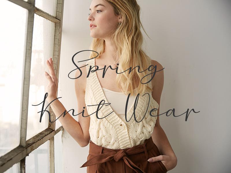 Spring Knit Wear