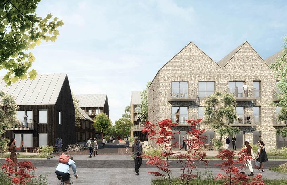 Wallfast är med och bygger trädgårdsstad i Riddersvik.