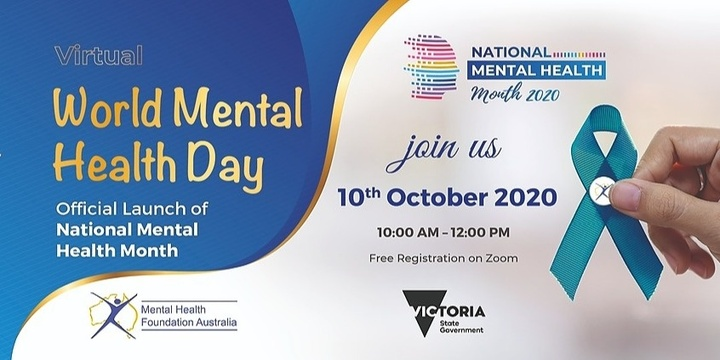 Official Launch National Mental Health Month 2020 World Mental Health Day Hosted Online 10th Of October Humanitix