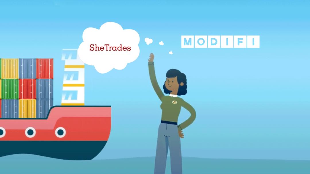 MODIFI Partners with SheTrades Image