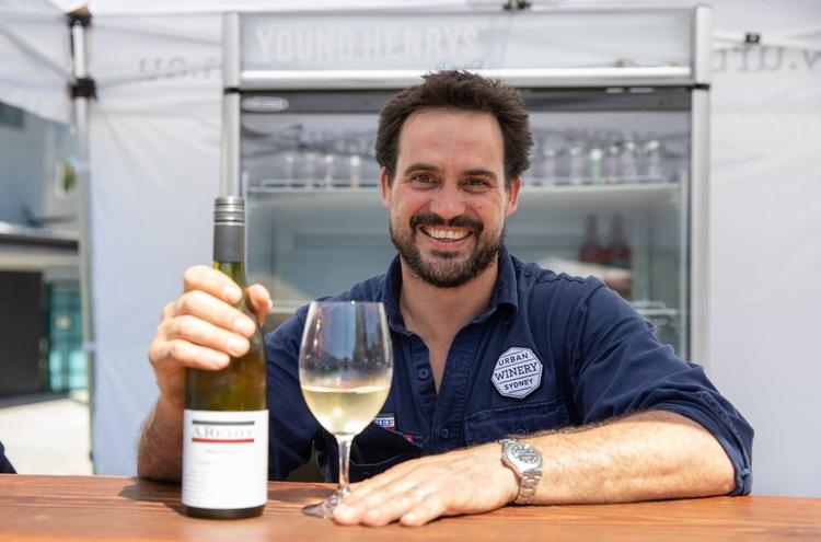 Winemaker Alex Retief